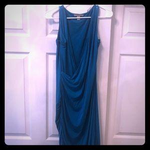 Banana Republic faux wrap Jersey dress L